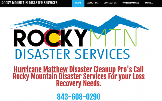 disaster services